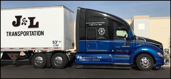 Truckers Against Trafficking Everyday Heros 2017 Kenworth T680