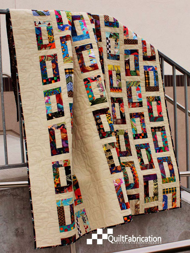 Slots quilt by QuiltFabrication