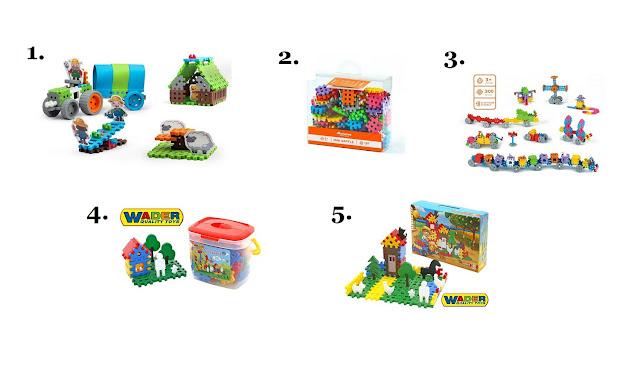 klocki wafle - jakie klocki dla dziecka - prezent na Mikołajki dla dziecka - hancia.pl - zabawki dla dzieci online