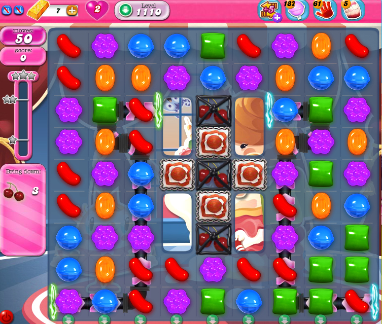 Candy Crush Saga 1110
