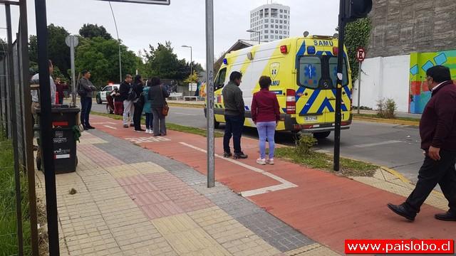 Osorno: Grave atropello en el centro de la ciudad