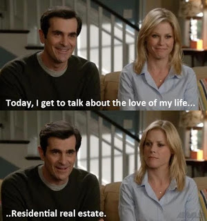 real estate humor, modern family meme, modern family phil, modern family residential real estate, phil dunphy