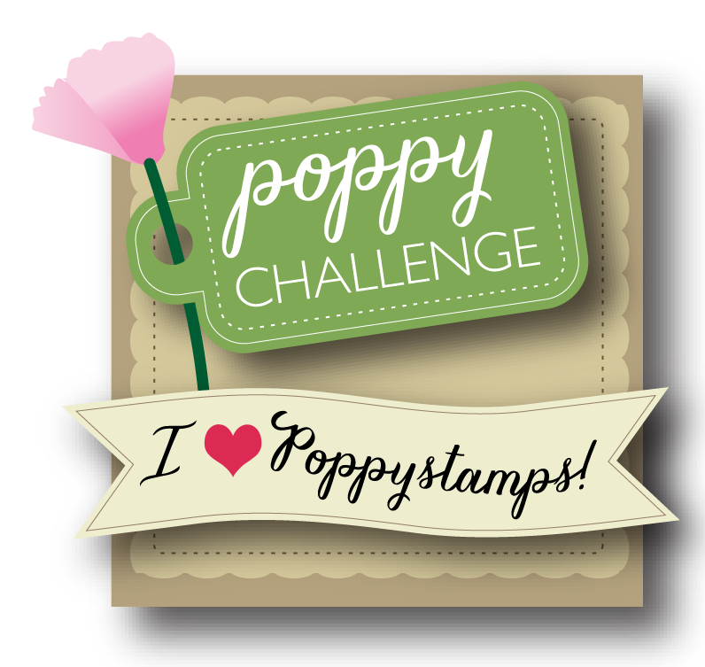 Poppy Challenge - I love Poppystamps