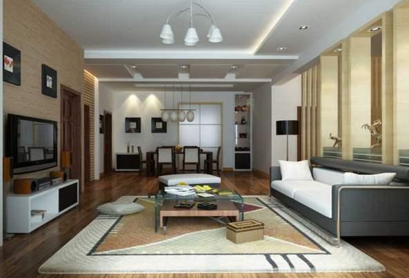 Desain Ruang Keluarga Rumah Minimalis Gambar 2