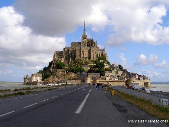 Monte Saint Michel, Normandía, Francia
