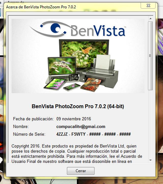 PhotoZoom Pro 7.0.2 Full Español (Aumentar resolución de imagenes)