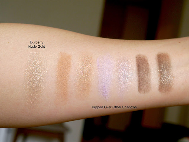 Burberry Eye Color Cream Nude Gold Swatch