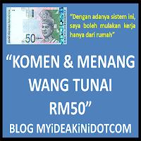 Banner Komen Dan Menang