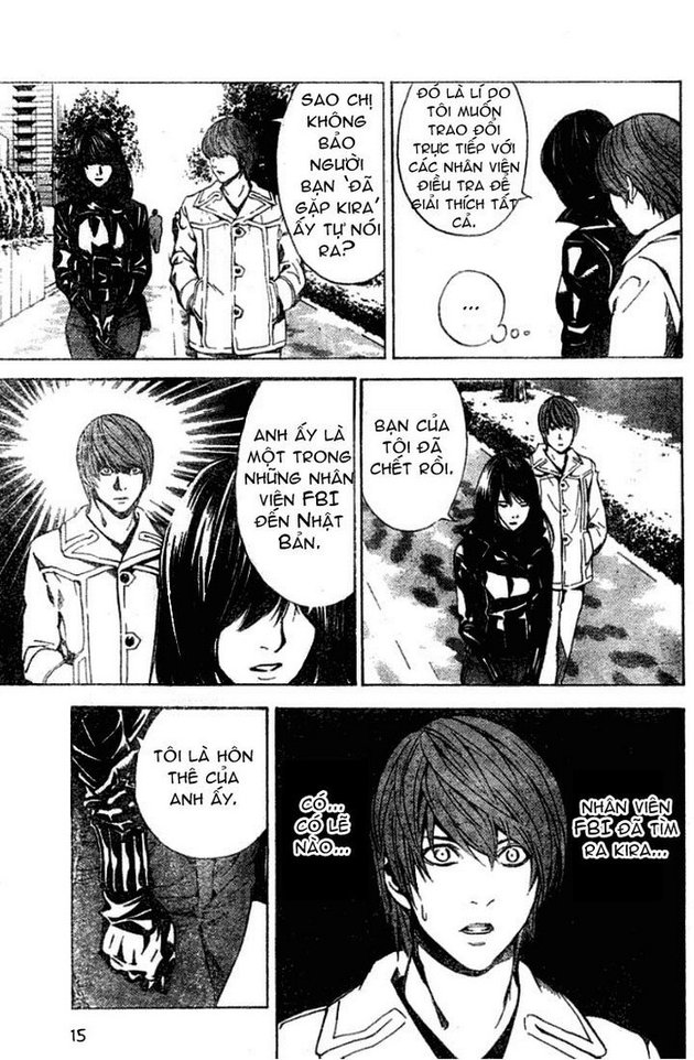 Death Note chapter 012 trang 16