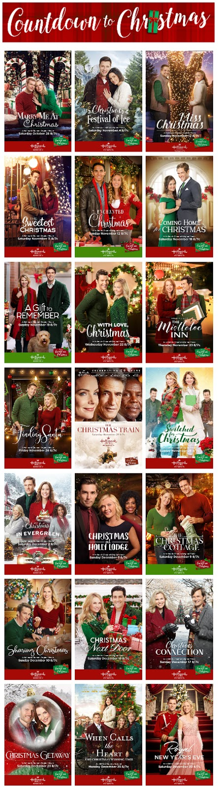 which new christmas movie did you like best from 2017 on the hallmark channel - Best New Christmas Movies