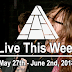 Live This Week: May 27th - June 2nd, 2018