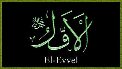 el-Evvel İsmi Anlamı