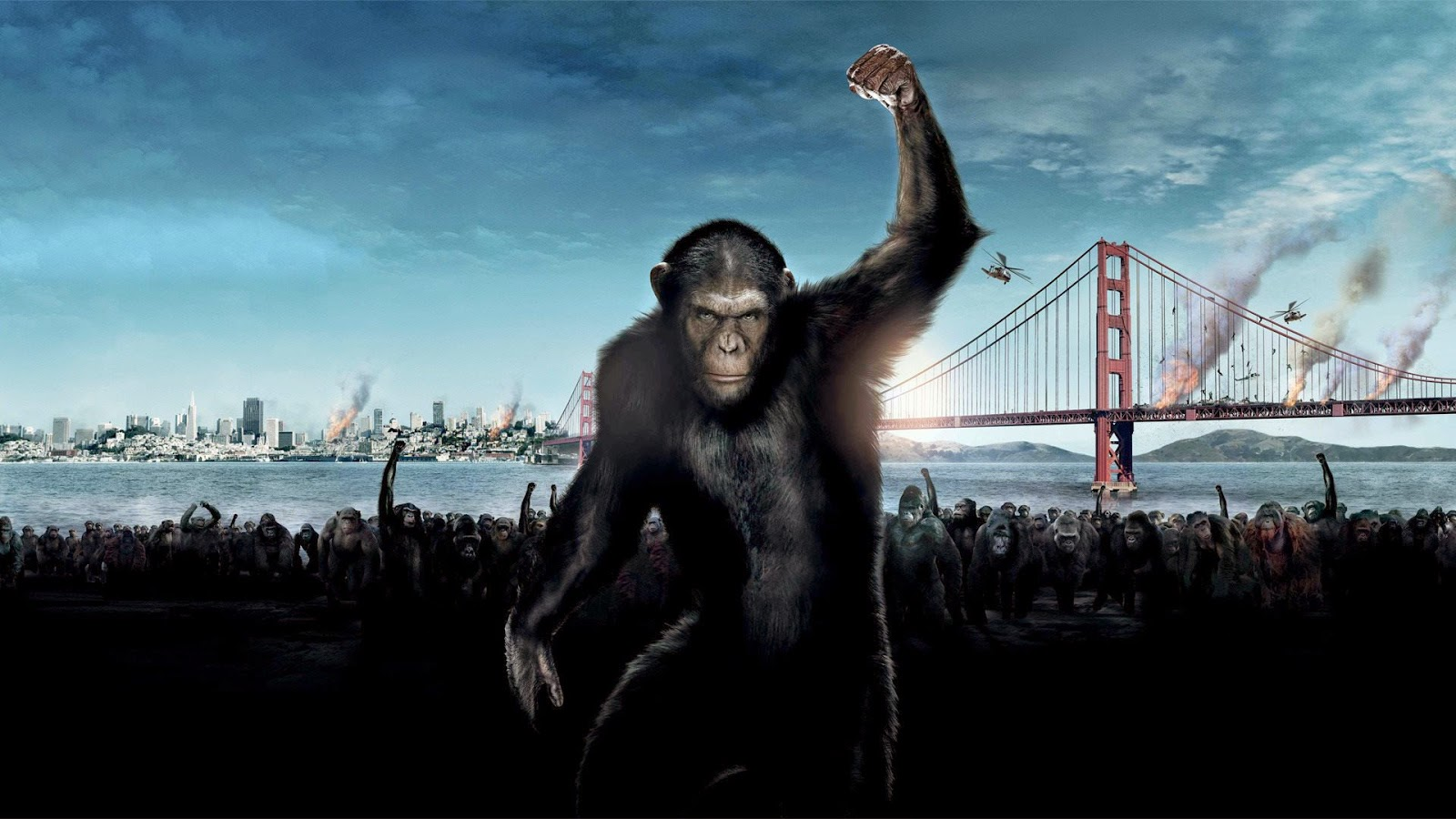 Dawn of the Planet of the Apes Caesar CGI monkey