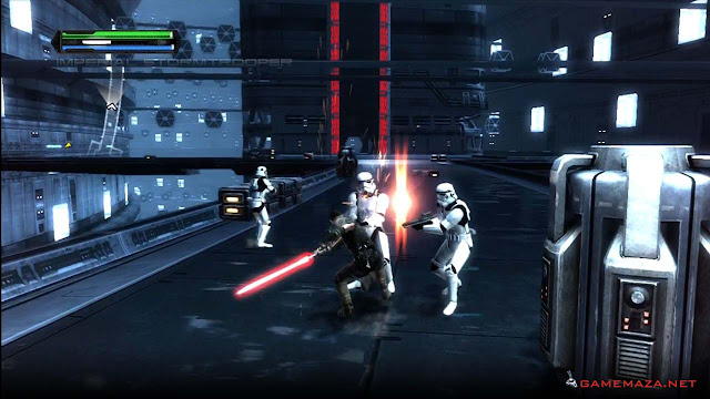 Star Wars The Force Unleashed Gameplay Screenshot 1