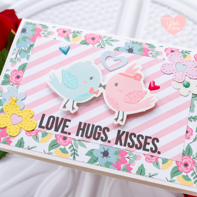7 Quick and Easy Valentine Day Cards using Spellbinders Card Kit of the Month for January by ilovedoingallthingscrafty.com