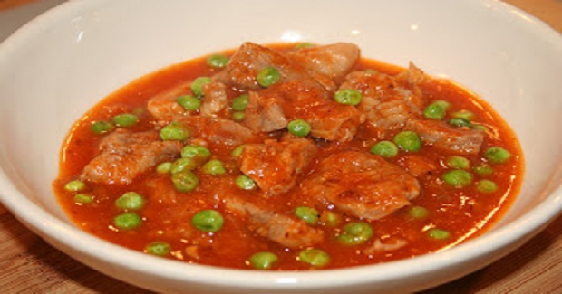 Pork Guisantes (Filipino Pork And Peas) Recipe