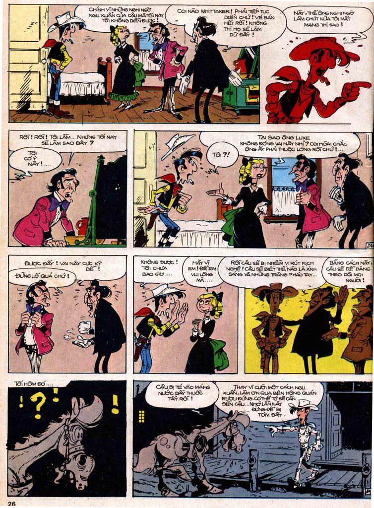Lucky Luke tap 18 - ki si ao trang trang 24