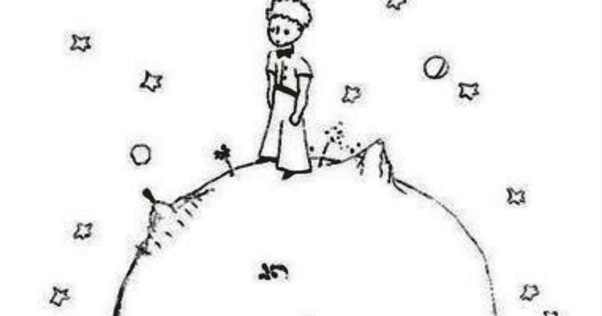"""Desenhos Para Colorir Principe: Dibujos Ideia Criativa: Desenho """"O Pequeno Príncipe"""" Para"""