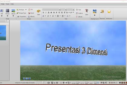 Membuat presentasi 3 dimensi menarik dengan Aurora 3D Presentation