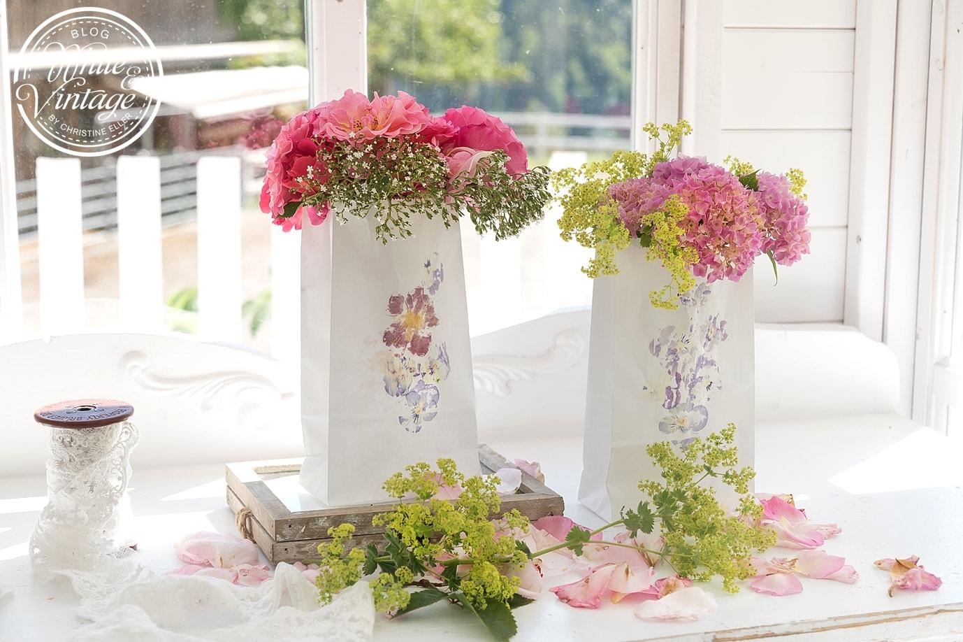 Blumendeko schnell und einfach selber machen