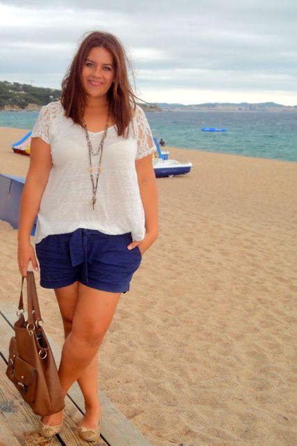 Como ir vestida ala playa si soy gordita