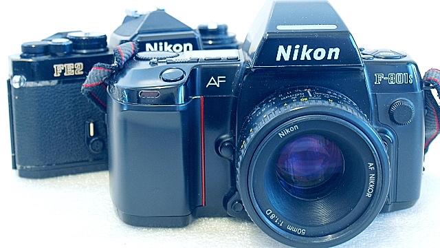Nikon F-801s, Nikon FE2
