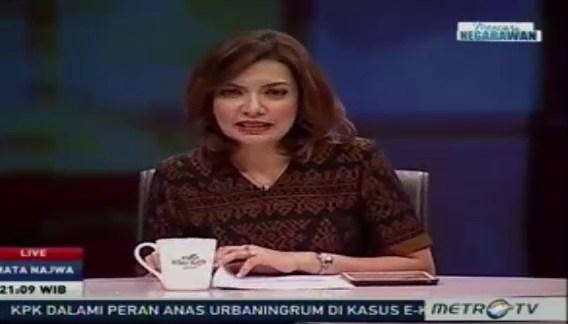 Ini Penjelasan Najwa Shihab Soal Ketidakhadiran Haryanto di Program Mata Najwa