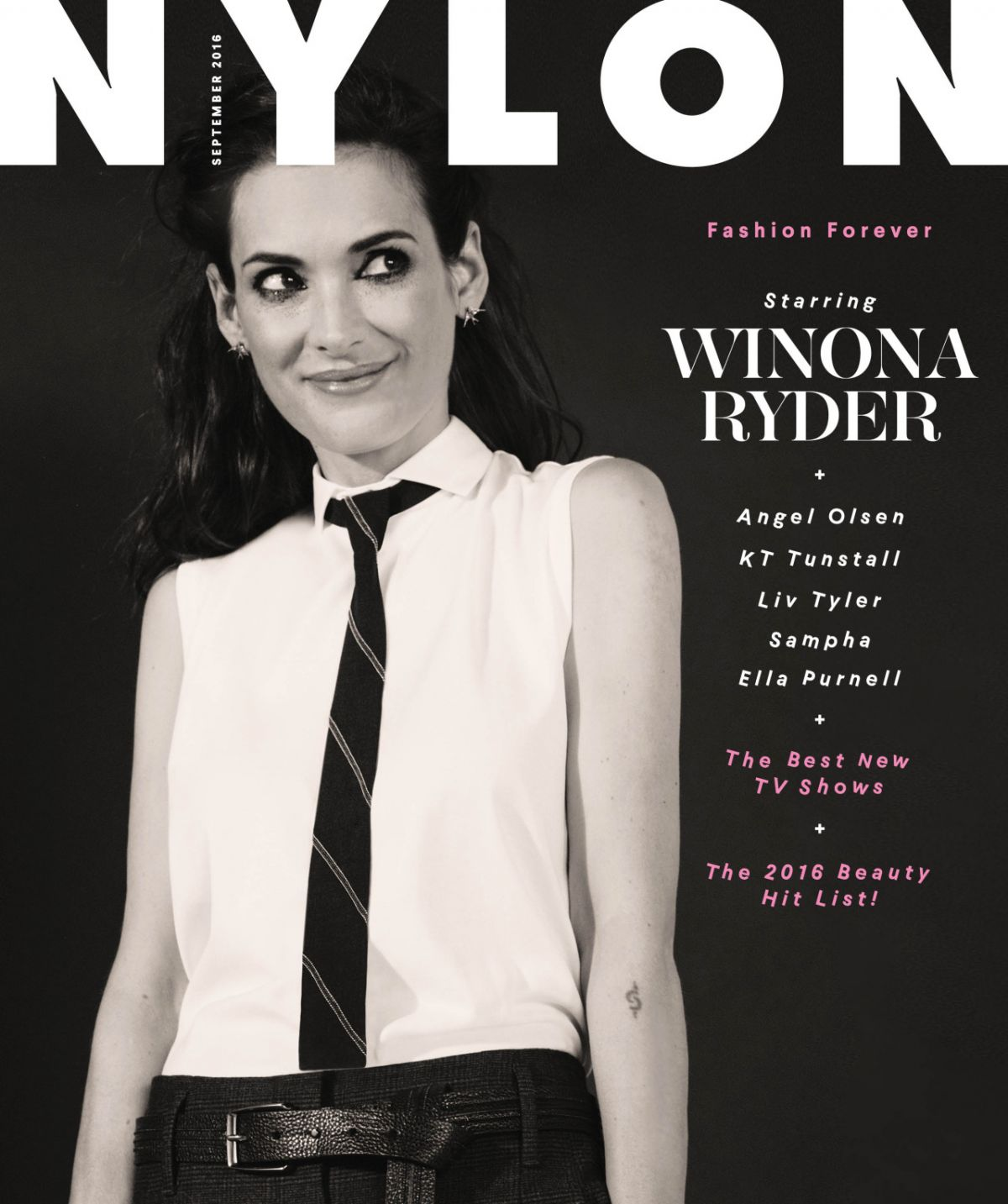 Winona Ryder Photo Shoot for Nylon Magazine 2016 September Issue