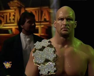 WWE / WWF - WRESTLEMANIA 12 - Stone Cold Steve Austin (w/ Ted Dibiase) made his Wrestlemania debut