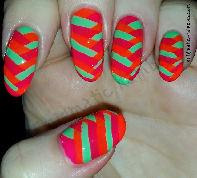 neon-fishtail-nails-nail-art