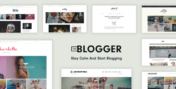 TheBlogger - A WordPress Blogging Theme for Bloggers Free Download