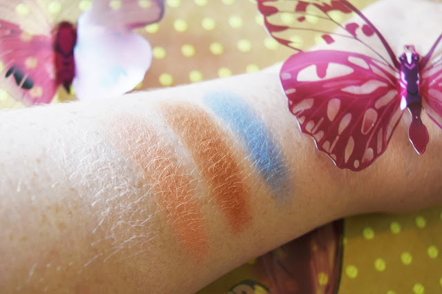 Urban Decay Alice Through The Looking Glass Eyeshadow Palette Alice Swatches