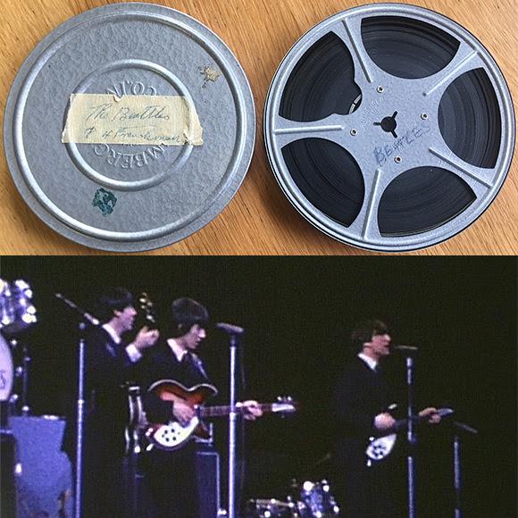 Vidéo inédite des Beatles au Forum de Montréal mise aux enchères