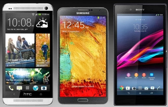 HTC One Max vs. Galaxy Note 3 vs. Xperia Z Ultra vs. Oppo N1 Review