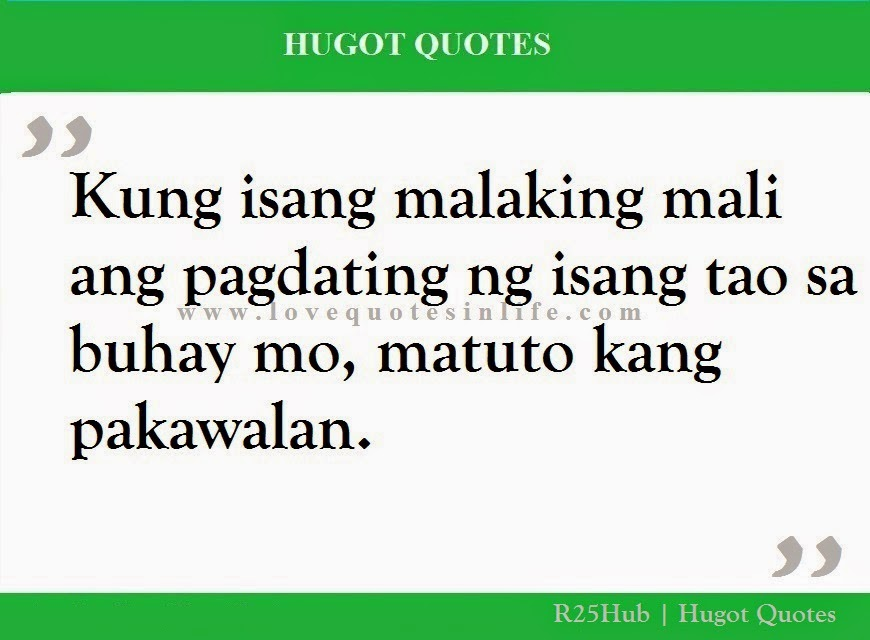 Tagalog Quotes About Life Lessons
