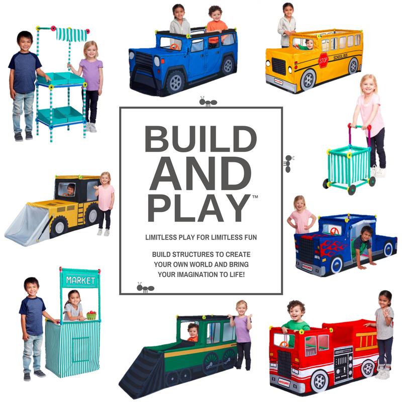 Antsy Pants Build /& Play Pirate Ship Kit