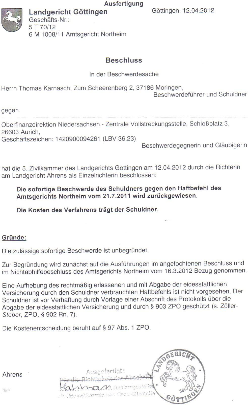 Göttingen Personalausweis