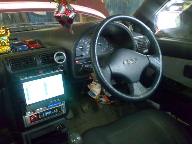 interior, starlet, toyota, sedan