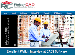 C# Developer Walkin Interview at CADS Software: January 2017