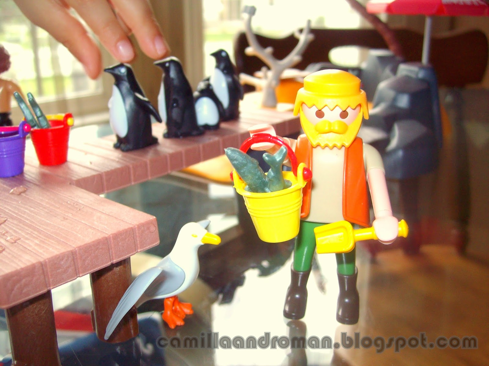 Camilla and Roman German Engineering Playmobil