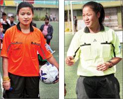 Reshmi Chettri and Phurki Bhutia
