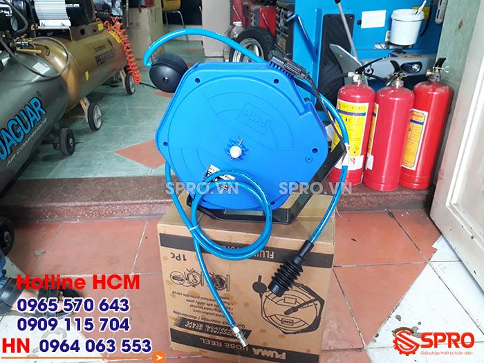 Giá cuộn dây khí tự rút Đài Loan cao cấp tp HCM dài 12m puma pm10-12sa