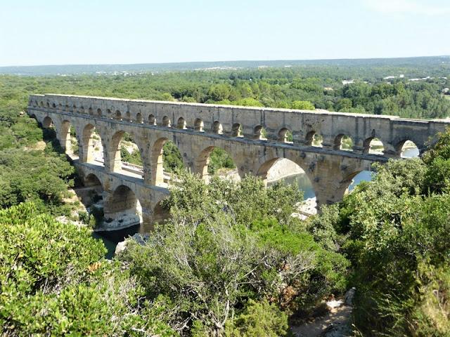 Vista del Pont du Gard