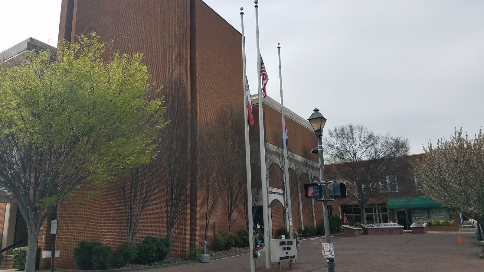 Lowering of US and NC Flags to Half-Staff in Honor of NC Rep. MaryAnn Black