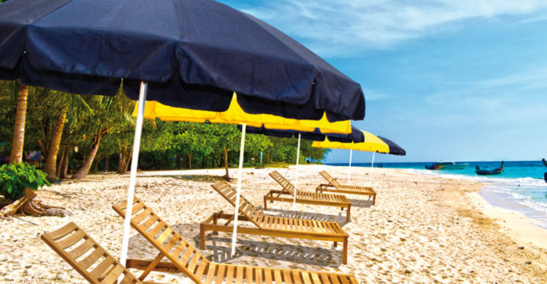 parasoles aluminio serie beach