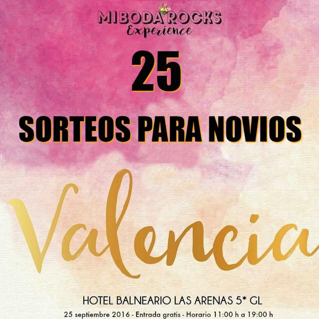 sorteos para novios mi boda rocks experience asturias septiembre 2016