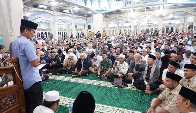 Sandiaga Ajak Umat Jihad Ekonomi