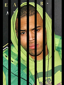 Chris Brown Steals Fan's Phone; Could Get 4 Years In Jail
