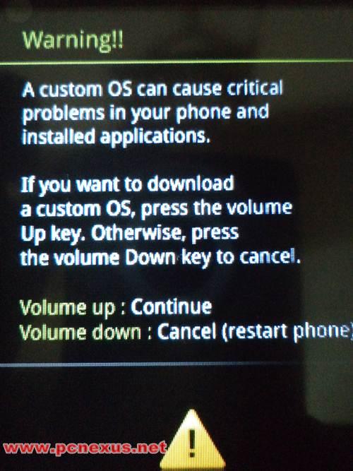 Custom Os Warning - 0425