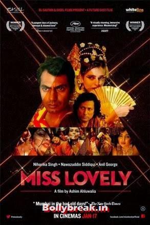 Miss Lovely movie poster, Miss Lovely Movie Stills - Niharika Singh